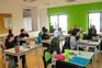 Covilhã, 18/04/2016 - Reportagem na escola Internacional da Covilhã,   sobre o 25 de Abril.     ( Filipe