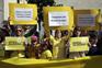 """Manifestação do movimento """"Defesa da Escola Ponto"""""""