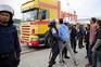 PSP no Porto de Lisboa para controlar saída de contentores bloqueados devido à greve dos estivadores