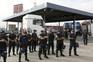 Protesto dos estivadores em Xabregas