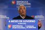 António Costa após o Conselho de Ministros extraordinário que assinalou os seis meses de Governo