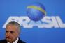 Michel Temer assumiu a presidência interina após a suspensão do mandato da presidente Dilma Rousseff