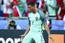 Portugal Cristiano Ronaldo celebrates after scoring a goal during the UEFA EURO 2016 group F preliminary