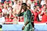 epa05384091 Portugal's Cristiano Ronaldo reacts during the UEFA EURO 2016 group F preliminary round match