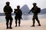 Forças policiais preparam os Jogos Olímpicos do Rio de Janeiro