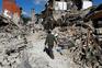 Sismo causou grande destruição no centro de Itália