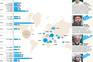 Os 30 maiores ataques após o 11 de setembro de 2001