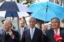 Jorge Sampaio, Marcelo Rebelo de Sousa e António Guterres