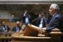 António Costa no debate quinzenal no Parlamento