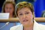 Kristalina Georgieva, economista búlgara de 63 anos, vice-presidente da Comissão Europeia