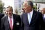 António Guterres e Marcelo Rebelo de Sousa