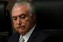 Michel Temer assumiu a presidência após a destituição de Dilma Rousseff