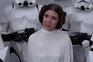 O papel de Princesa Leia marcou a carreira da atriz Carrie Fisher