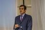 """Rui Moreira, presidente da Câmara Municipal do Porto, na Inauguração do espaço """"Porto Innovation Hub""""."""