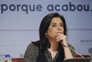A presidente do Sindicato dos Jornalistas, Maria Flor Pedroso