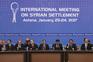 Negociações em Astana