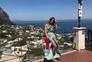 """Luciana Abreu está """"feliz"""" em Itália"""