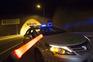Autocarro incendiou-se no Túnel do Marão