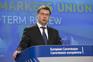 Vice-presidente da Comissão Europeia Valdis Dombrovskis