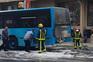 Passageiros de autocarro da Resende viram fumo e avisaram condutor