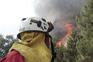 Centenas de efetivos no terreno devido aos incêndios