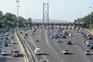 """""""Garrafão"""" das portagens no acesso à ponte 25 de Abril"""