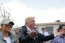 Donald Trump e Melania em Porto Rico