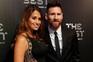 A primeira aparição pública da mulher de Messi após anúncio da gravidez