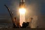 Nave russa Soyus MS-07 lançada do Cazaquistão