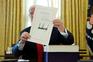 Donald Trump aprovou esta sexta-feira a reforma fiscal