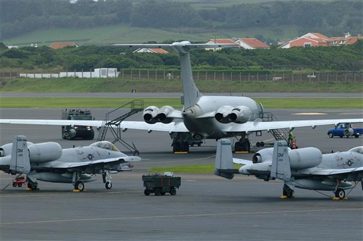 Base das Lajes, Terceira