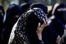 Indianas em protesto contra violações no país