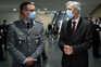Ingo Weisel, chefe da missão alemã, e João Gomes Cravinho, ministro da Defesa