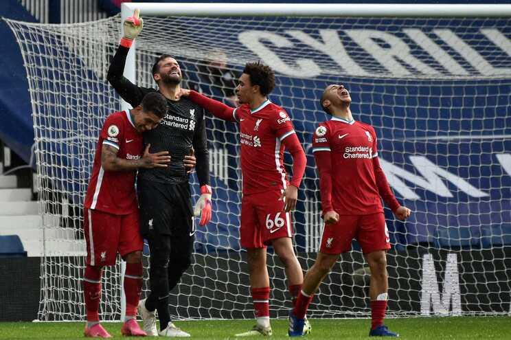 Liverpool venceu este domingo