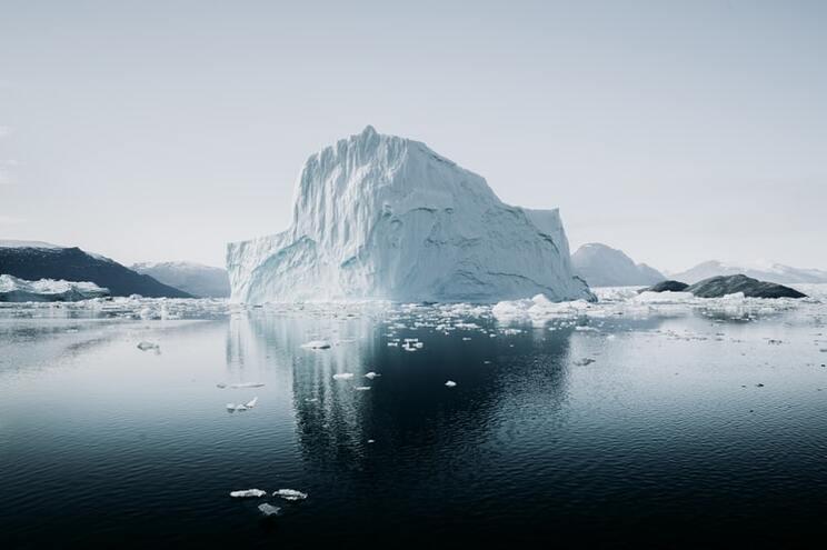 Durante três dias, caíram das nuvens cerca de sete mil milhões de toneladas de água em toda a Gronelândia