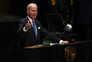 Joe Biden discursou esta terça-feira na Assembleia-geral da ONU