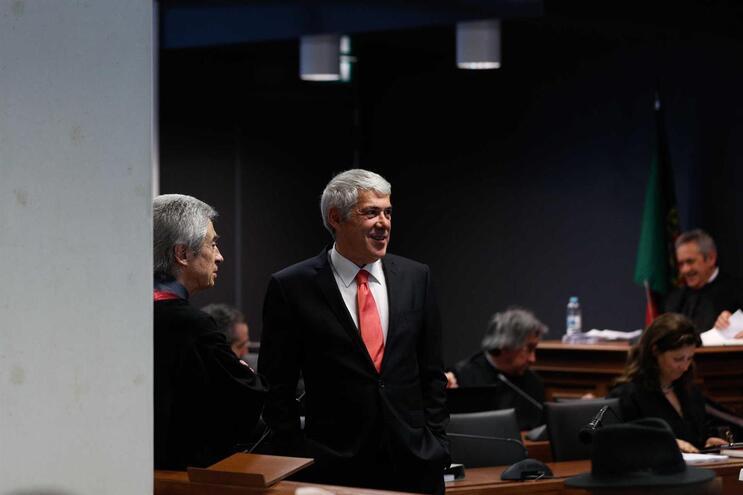 Ex-primeiro ministro foi prestar nova declaração na fase de instrução da Operação Marquês