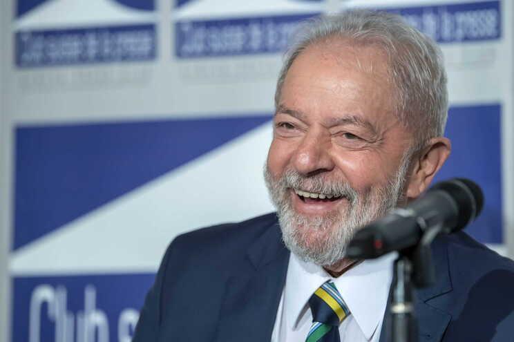 O ex-presidente do Brasil Lula da Silva