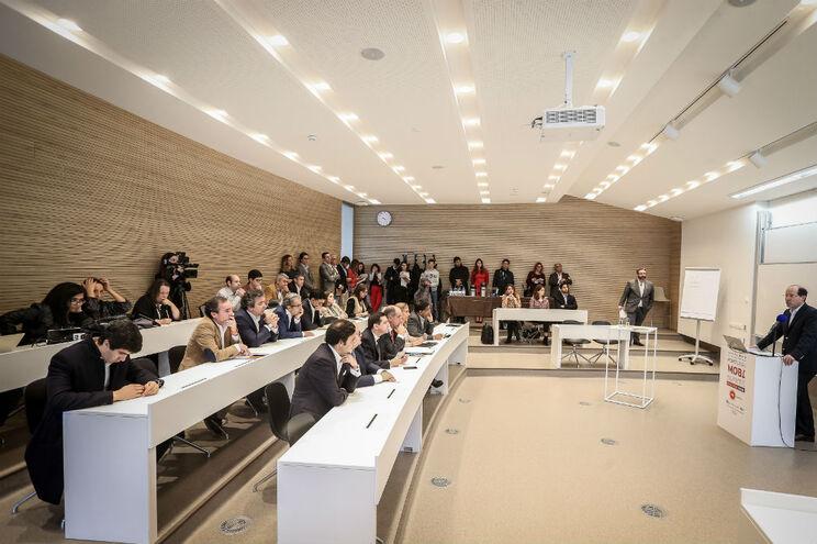 Sessão de apresentação do Portugal Mobi Summit na Universidade Nova SBE