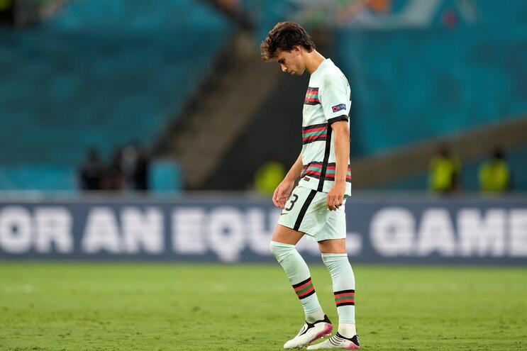 João Félix jogou apenas contra a Bélgica no Euro 2020