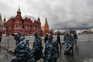 Forças de segurança na rua em Moscovo para impedir manifestações
