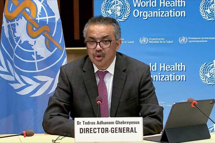 Diretor-geral da Organização Mundial da Saúde, Tedros Ghebreyesus