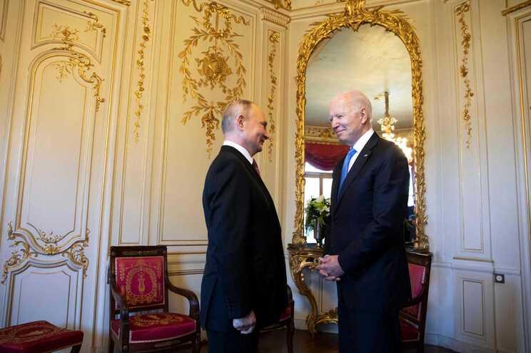 Putin e Biden encontraram-se em Genebra