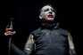 O cantar e compositor norte-americano Marilyn Manson