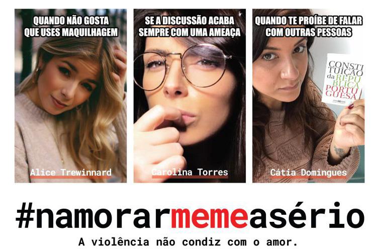 Campanha #NamorarMemeASério pela eliminação da violência