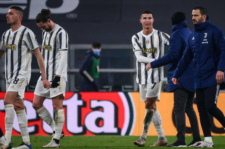 A Juventus empatou esta terça-feira
