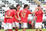 O Benfica venceu o Nacional esta terça-feira