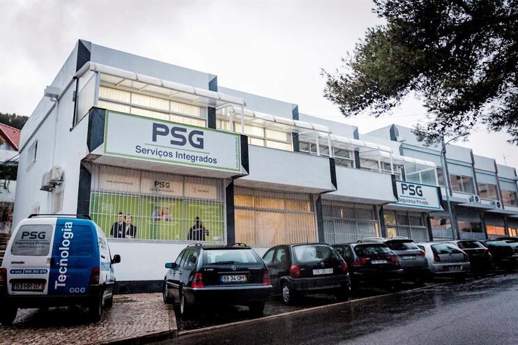 Sede da empresa de segurança PSG, no Estoril