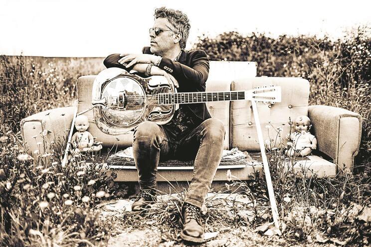 O guitarrista António Mão de Ferro