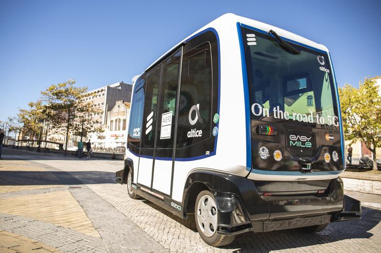 Minibus 5G nos Techdays Aveiro
